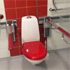 Care Toalettarmstöd, röd