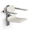 PLUS duschsits 450 vit, R7434000, manuellt höjdreglerbar