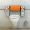 PLUS toalettarmstöd, orange