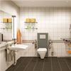 PLUS upphängning av badrumsprodukter