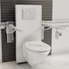 Pressalit Care SELECT toalettupphängning, vit