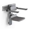 Pressalit PLUS duschsits 450 med armstöd, manuellt höjd- och sidoreglerbar
