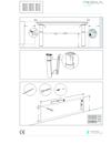 Pressalit MATRIX Angle tvättställ