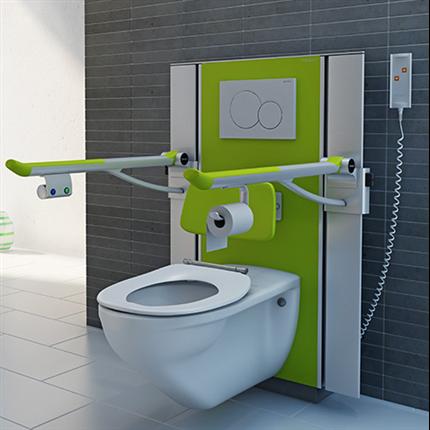 Pressalit Care toalettupphängning