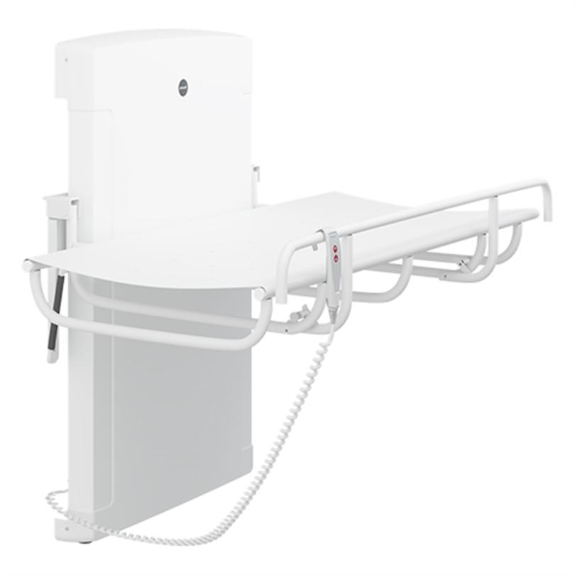 Pressalit Care Duschbrits 1000, elektrisk höjdreglerbart
