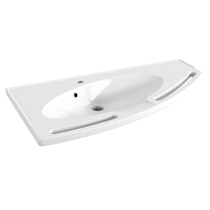 Pressalit MATRIX Angle tvättställ med bräddavlopp