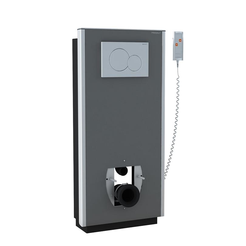 Pressalit SELECT toalettupphängning med manöverdosa, till golvavlopp
