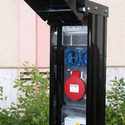 Variator VMS motorvärmarstolpar