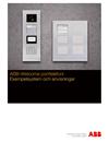 ABB-Welcome porttelefoni Exempelsystem och anvisningar