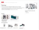 ABB Laddstationer med snabbladdare och normalladdare på webbplats