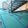 Monterad ljuddämpning på golv