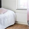 Purmo Compact panelradiator i sovrum