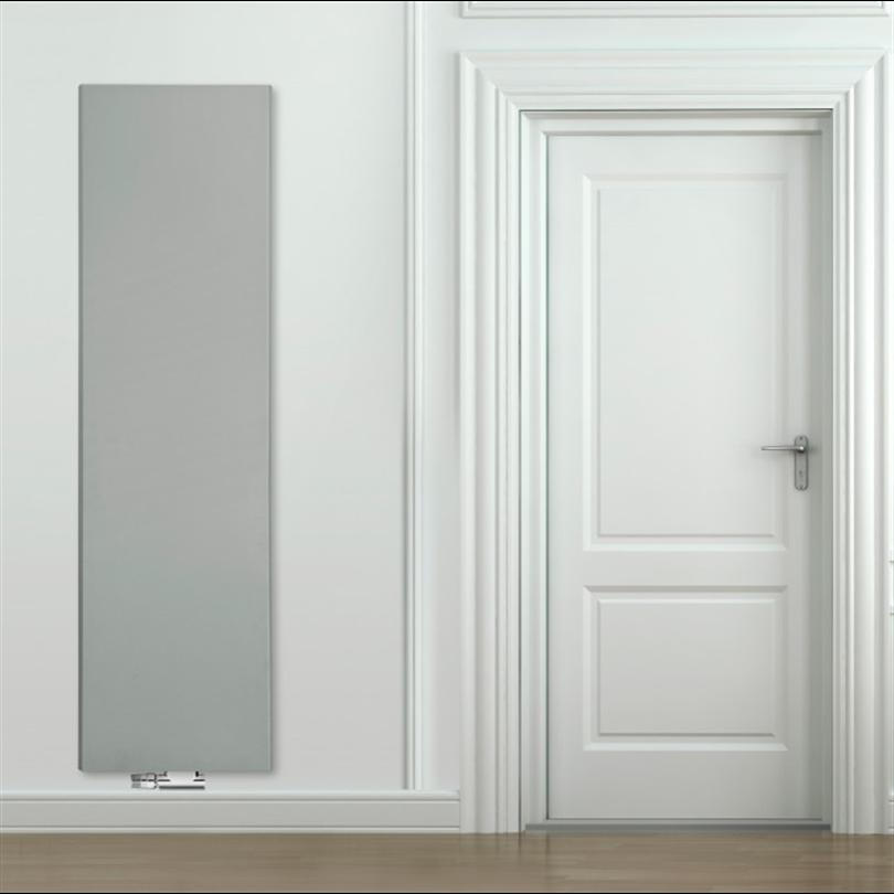 PURMO vertikal designradiator, grå