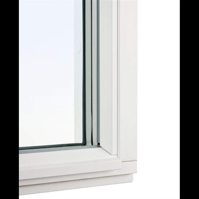 Balans Karmfast fönster, utsida