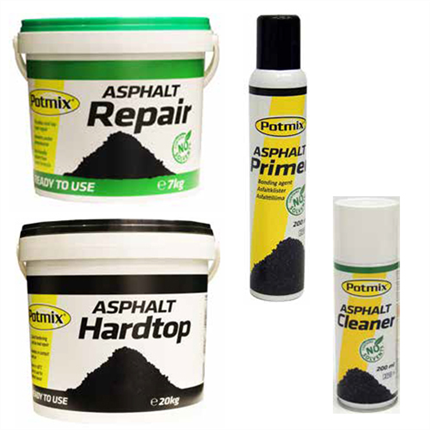 Potmix Reparationsasfaltprodukter