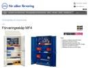 MF4 förvaringsskåp på webbplats