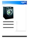 Podab BaseLine tvättmaskin TM 8055