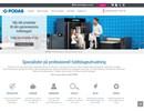 Podab BaseLine tvättmaskiner på webbplats