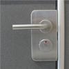 AH Compact WC-behör med trycke