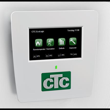 CTC EcoLogic Pro värmepumpsstyrning