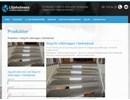 Steg för ståltrappor på webbplats