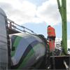Betongindustri fiberbetong, transporter