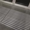 Entrance ALU entrémattor med kassettborst