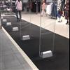 Entrance DRY entrémattor Combi Tile i butik, svart
