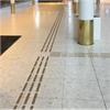 Tactile Flooring Ledstråk, mässing