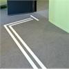 Tactile Flooring Ledstråk, aluminium
