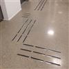 Tactile Flooring Ledstråk, rostfritt TPU