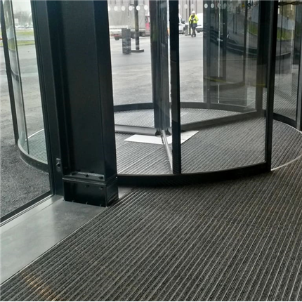 Entrance ALU entrémattor för karuselldörrar