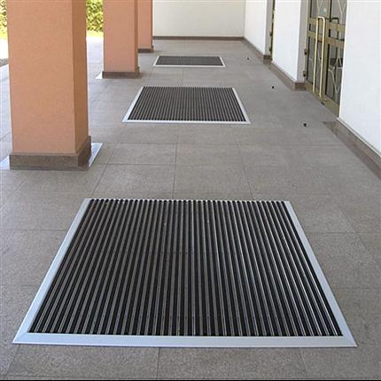 Entrance Ingjutningsram och ramp för entrémattor