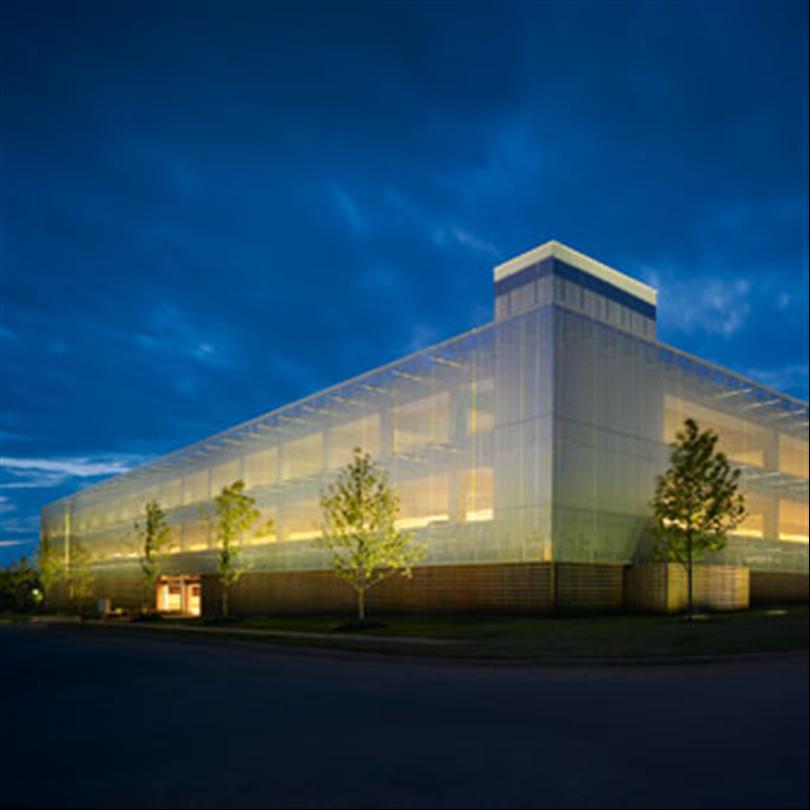 Derma Arkitekturväv/metallväv som fasadbeklädnad