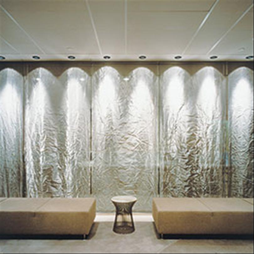 Derma Arkitekturväv/metallväv som inredningsdetalj