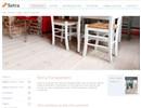 Setra furuparkett på webbplats