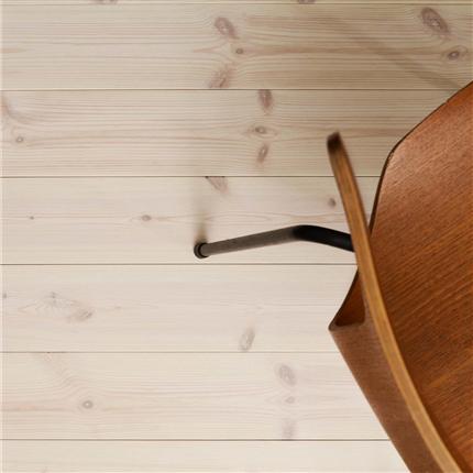 Setra Klassisk trägolv, vit hårdvaxolja