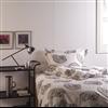 Forestia Färdigvägg i sovrum, 14TF Vit Inspiration