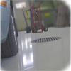 Diffusionsöppen golvfärg, vattendispergerad epoxifärg avsedd att måla på fuktiga underlag