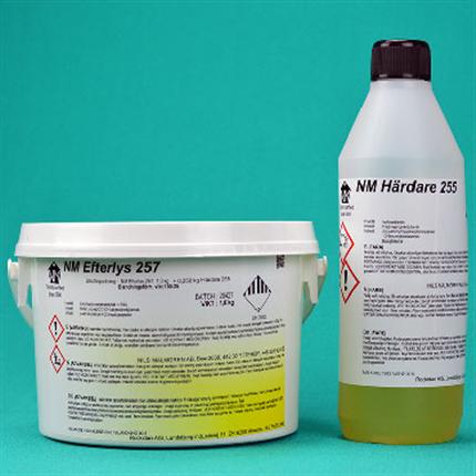 Lösningsmedelfri markeringsfärg, epoxibaserad, efterlysande effekt