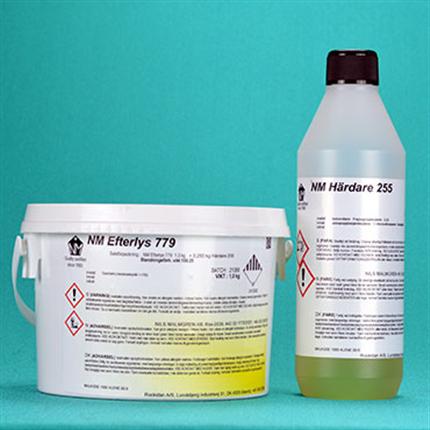 Epoxibaserad markeringsfärg, efterkysande makeringsfärg, lösningsmedelsfri färg