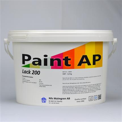 Paint AP Lack 200 (M) (Trälack)