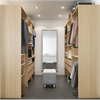 Marbodal walk-in-closet, Ek struktur