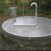 ABAT Plan inspektionslucka av aluminiumdurkplåt på rund nedstigningsbrunn