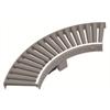 Driven roller curve conveyor
