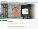 Classic ytterdörrar på webbplats