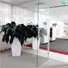 FLEX GLASSDOOR glasdörr i FLEX GLASSLINE helglasad systemvägg