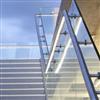FLEX RAILING glasräcke, vägg- och golvmonterat utomhus