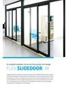 FLEX SLIDEDOOR-W skjutdörrar