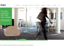 Glassline på webbplats